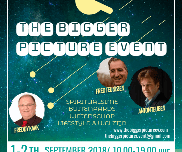 1 en 2 september: The Bigger Picture Event in Rijen