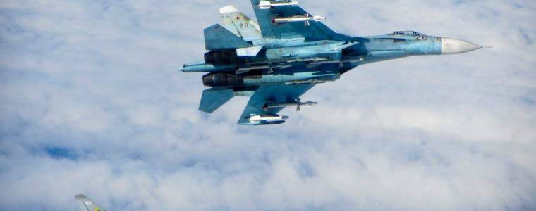BBC Lauds RAF for Keeping Nasty Russian Plane at Bay…on Russia's Own Black Sea Border, 2,000km Away From UK