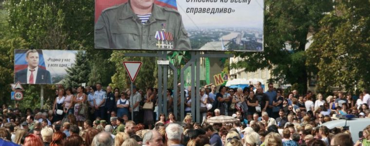Rusland start onderzoek naar moord op president Volksrepubliek Donetsk