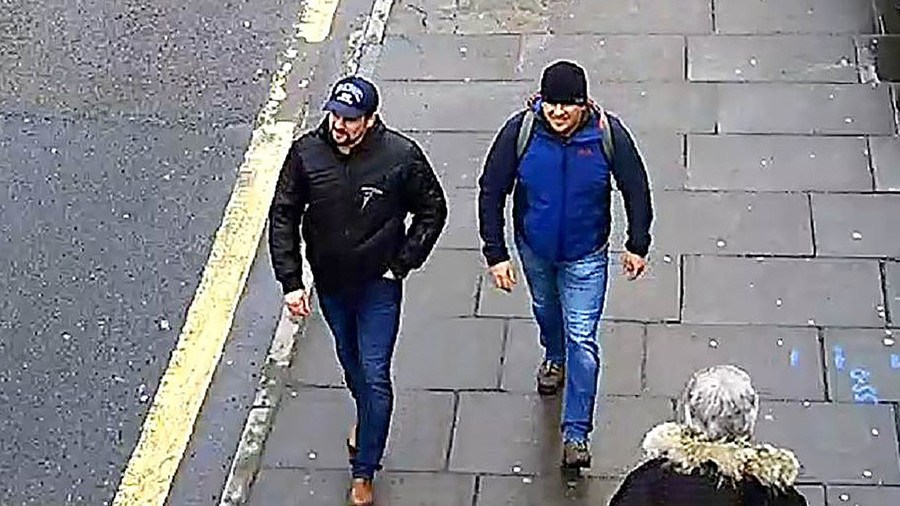 Putin's Novichok assassins identified. Pictured smiling, walking UK streets (Video)