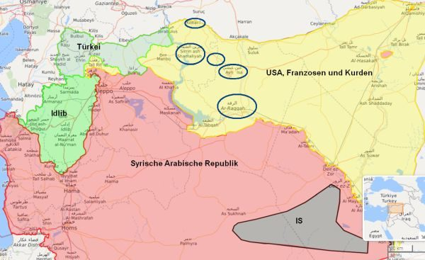 Russland warnt erneut vor Giftgas-Anschlag in Syrien