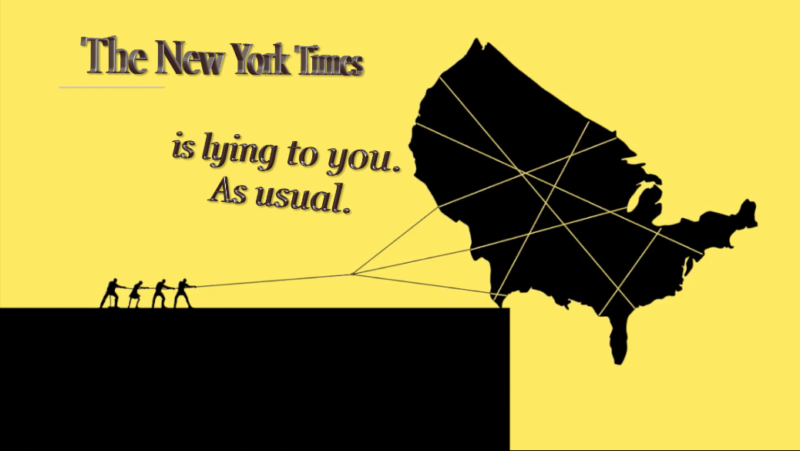 "New York Times ""anonymous"" op-ed is the mainstream media's latest magic trick"