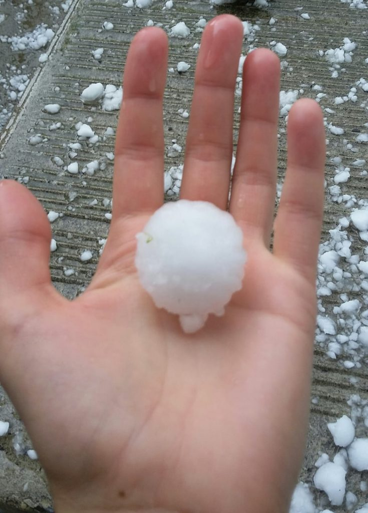 Hailstone not Snow | Armstrong Economics