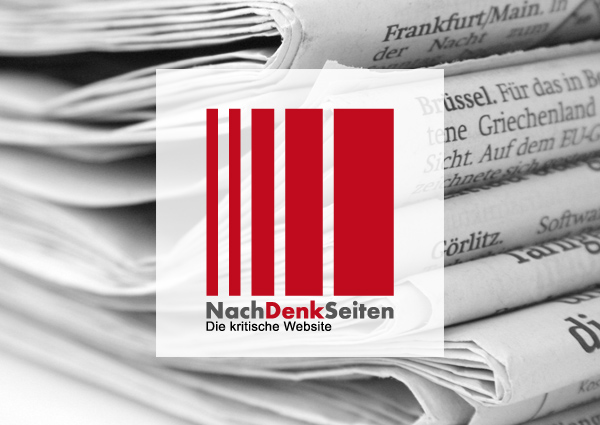 Von der Leyen lässt Luftwaffeneinsatz in Syrien ohne Bundestagsmandat prüfen und die deutschen Medien stecken den Kopf in den Sand – www.NachDenkSeiten.de
