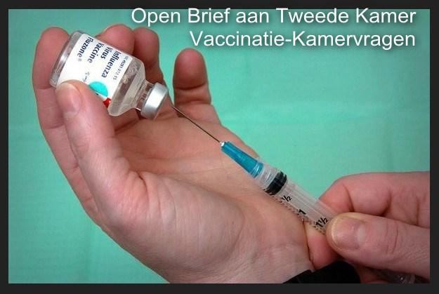 Open brief aan Tweede Kamer-leden: vaccinaties..