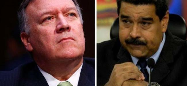 """Pompeo Vows """"Series Of Actions"""" Against Venezuela's Maduro """"In The Coming Days"""""""