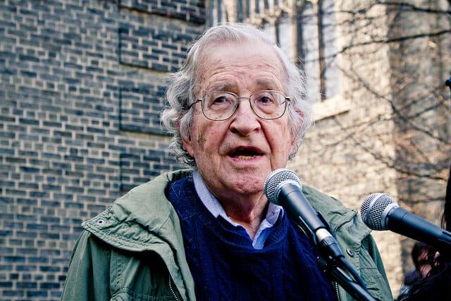 Noam Chomsky: Facebook and Google Pose a Manifest Danger