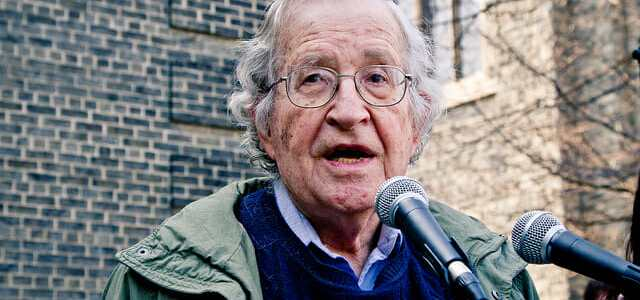 Noam Chomsky: Facebook and Google Pose a Manifest Danger