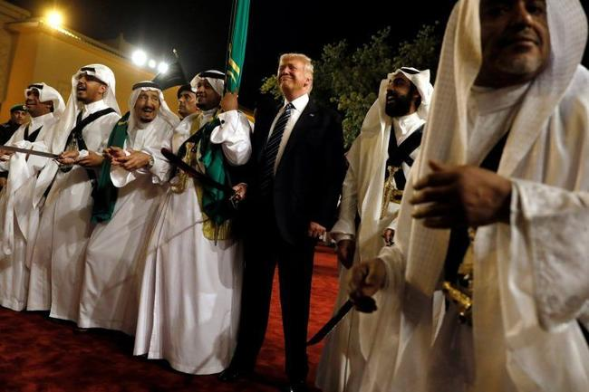 """Trump Says Blocking Saudi Arms Sales Would Be """"Hurting Us"""" When Asked About Khashoggi"""