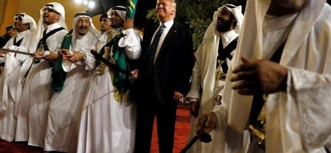 "Trump Says Blocking Saudi Arms Sales Would Be ""Hurting Us"" When Asked About Khashoggi"