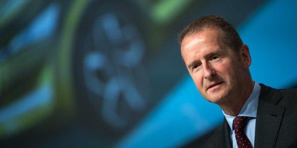 VW-Chef Diess: Elektro-Autos werden mit Braunkohle fahren