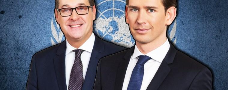 Fallen Kurz und Strache auf plumpes Propaganda-Video der UN hinein?