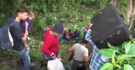 Waarom trekken de Hondurezen er massaal uit?