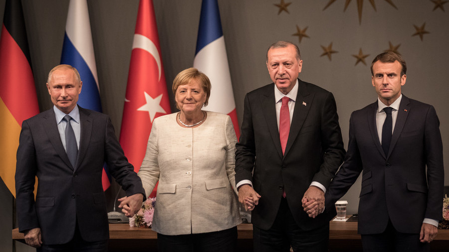 Common ground on Syria: What France, Germany, Turkey & Russia agreed on in Istanbul