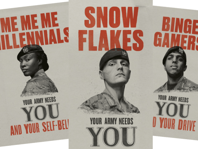 british-army-seeks-8220snowflakes8221-and-8220selfie-addicts8221-as-recruitment-numbers-slide