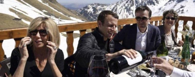 macron-cuts-ski-holiday-short-vowing-crack-down-on-yellow-vests-video