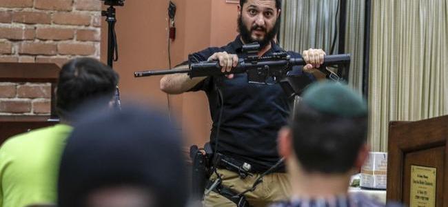 'tactical-rabbi'-teaches-synagogue-self-defense