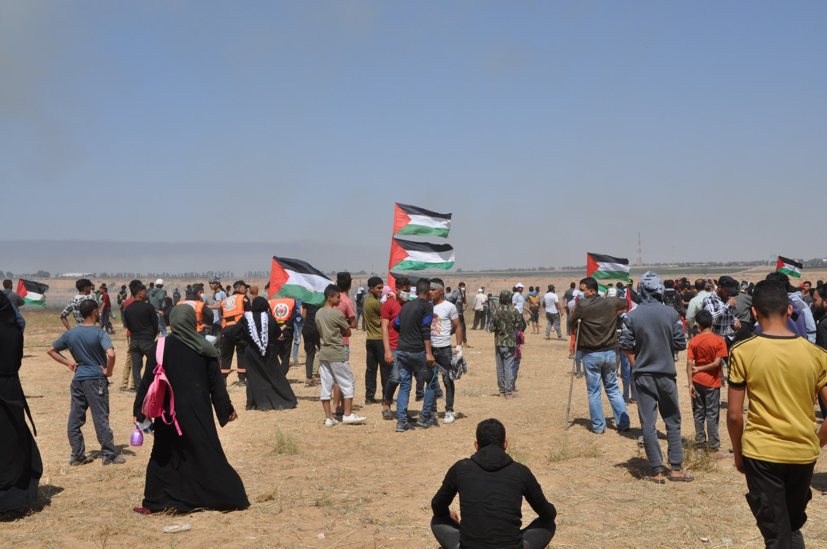 "during-nakba-commemoration-protests:-""israeli-forces-wound-144-palestinian-civilians,-including-49-children,-4-women-and-1-paramedic""-–-global-research"