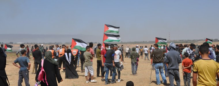 """during-nakba-commemoration-protests:-""""israeli-forces-wound-144-palestinian-civilians,-including-49-children,-4-women-and-1-paramedic""""-–-global-research"""