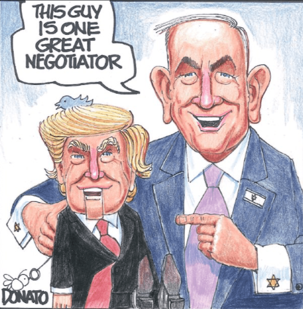 netanyahu-took-trump-to-new-heights-of-global-tension-and-dropped-him-–-global-research