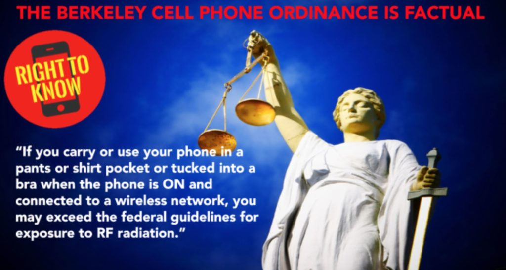 """court-rejects-industry-appeal-and-upholds-berkeley,-ca-""""cell-phone-radiation-right-to-know""""-ordinance"""