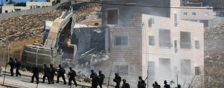 'grave-aggression':-israel-begins-demolition-of-residential-buildings-in-the-west-bank