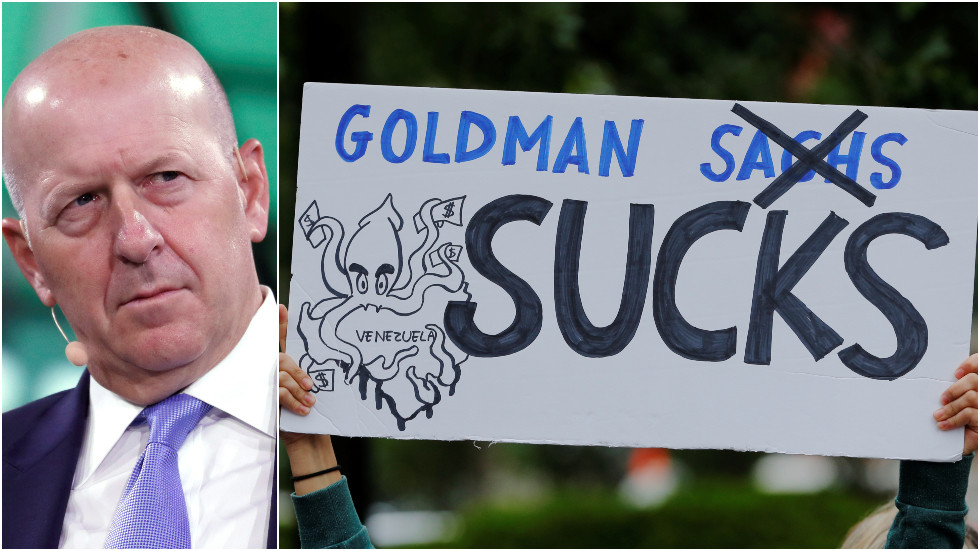 at-least-someone's-doing-well:-goldman-sachs-gives-ceo-20%-raise-as-it-forecasts-crash-for-america