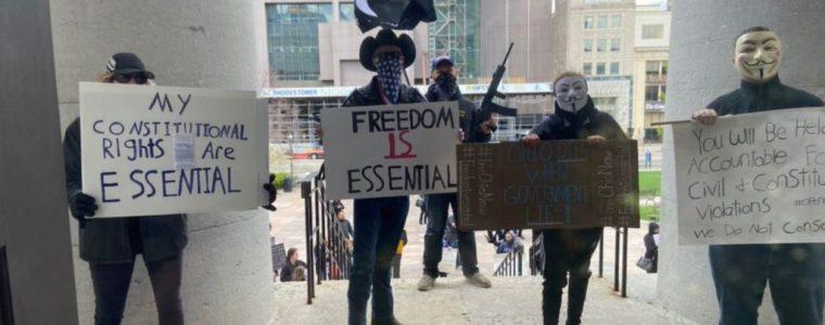 ohio-protesters-claim-coronavirus-shutdowns-violate-their-constitutional-rights-–-activist-post