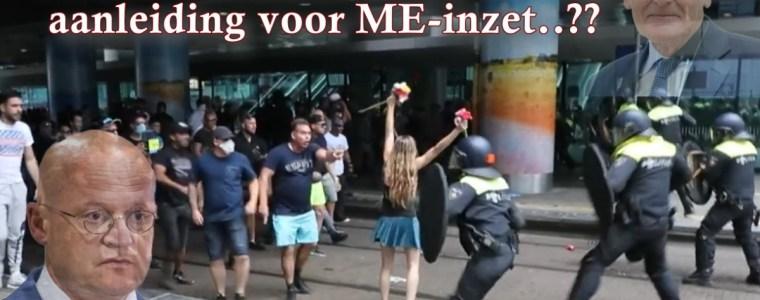 denhaag-21-juni:-de-politie-en-de-eigen-relschoppers!!