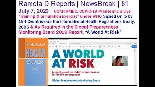 """newsbreak-81:-confirmed:-covid-19-plandemic-a-known,-live-""""training-&-simulation-exercise""""-under-who"""