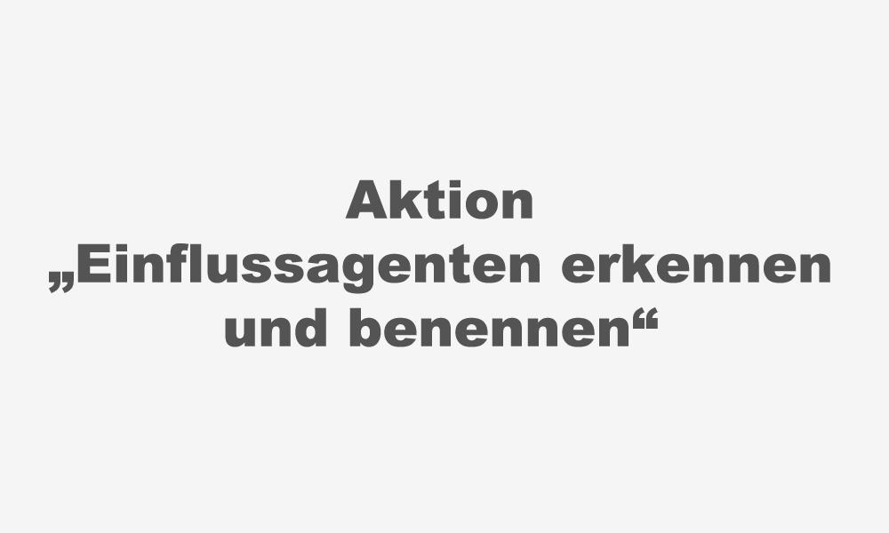 """aktion-""""einflussagenten-erkennen-und-benennen"""""""