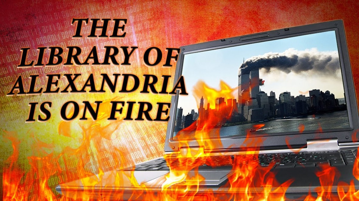 the-library-of-alexandria-is-on-fire