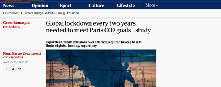 lockdowns-or-the-planet-gets-it?-guardian-'accidentally'-suggests-covid-like-shutdowns-every-2-years-to-meet-paris-climate-goals