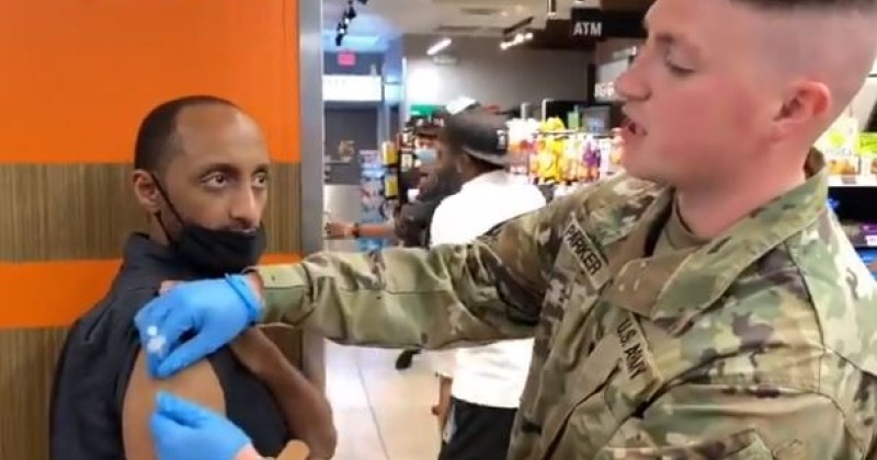 video-shows-national-guard-troops-administering-vaccines-in-dallas-7-eleven