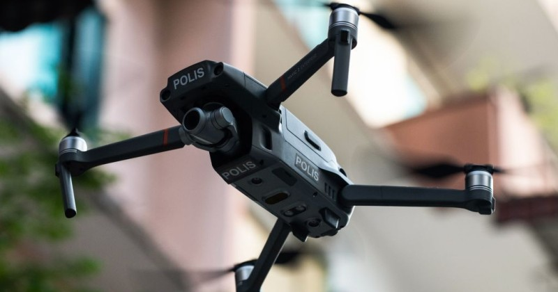 malaysian-police-use-heat-drones-to-check-temperatures-from-above