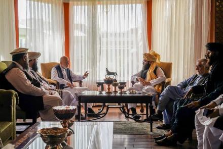 taliban-members-meet-political-leaders-in-kabul