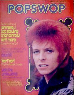 David Bowie, PopSwop , magazine