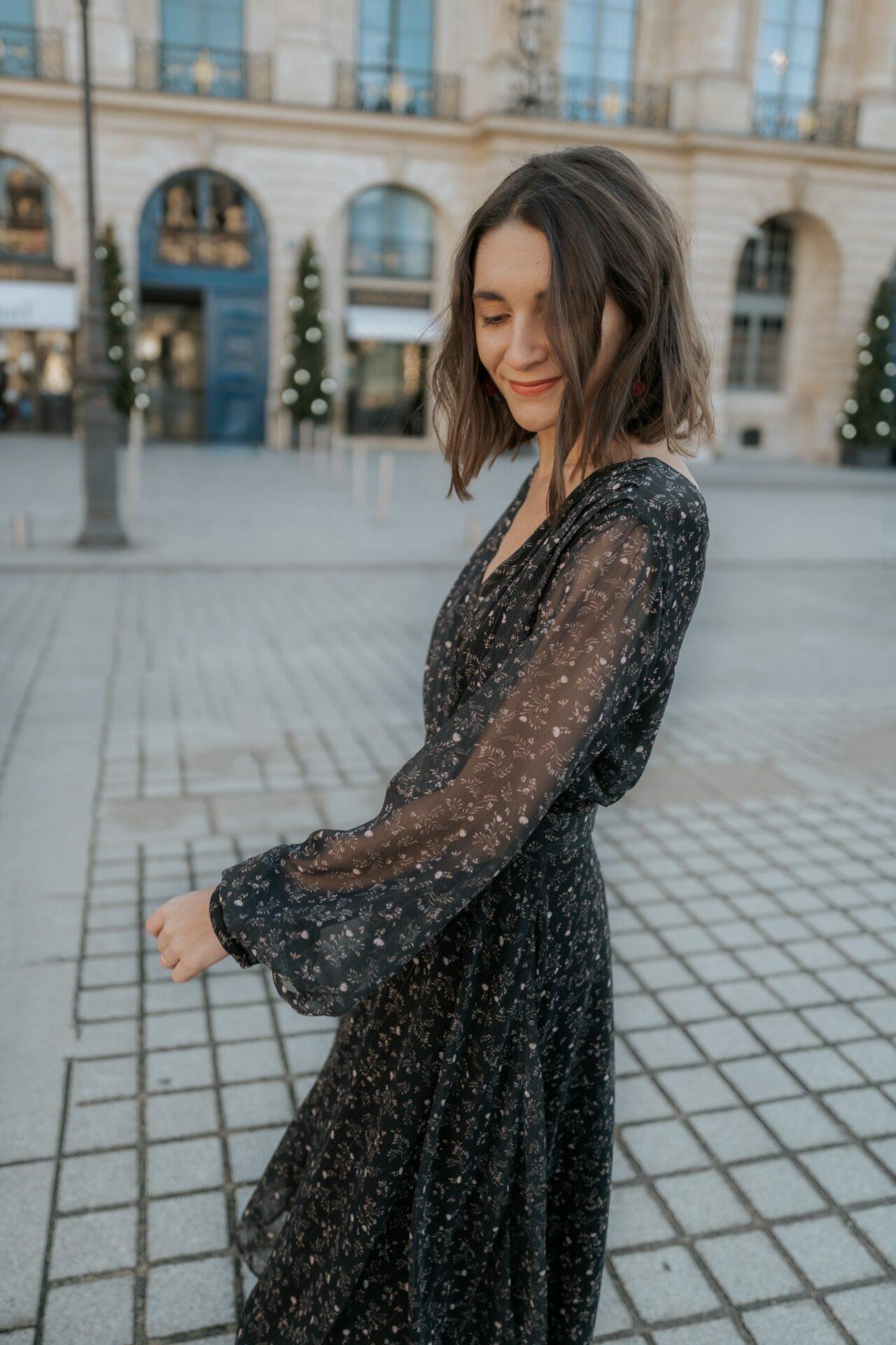 Une robe de fêtes chez Apolline Patterns