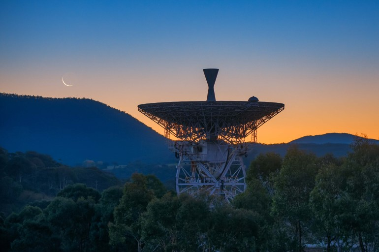 The former Honeysuckle Creek dish used during Apollo 11. Now at the Canberra Deep Space Communication Complex (CDSCC).