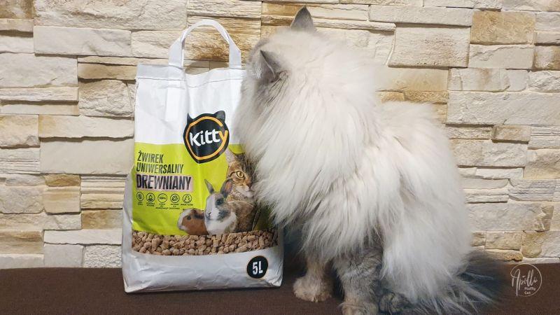 Recenzja: Kitty drewniany żwirek z Biedronki