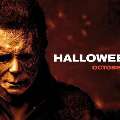Michael Myers escapes fire in Halloween Kills poster