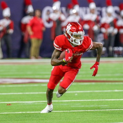 The UH football team crushed the Rice Owls 44-7 during Saturday's game at Rice Stadium. (Courtesy Mario Puente)