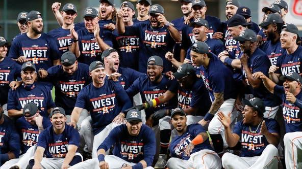 AL West Champions Yet Again