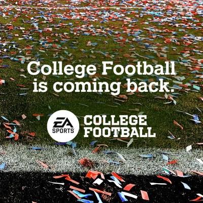 The Return of NCAA Football
