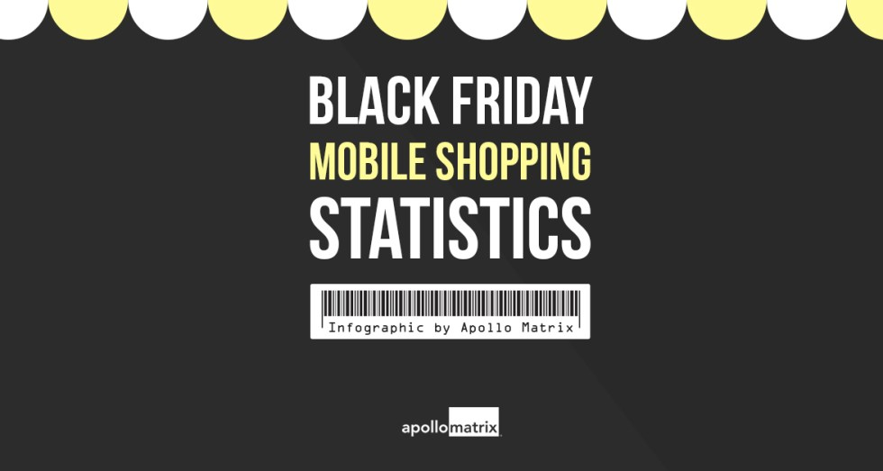 Black Friday Mobile Shopping Statistics by Apollo Matrix