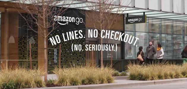 Amazon Go. No lines. No Checkout. No. Seriously.