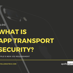 What is App Transport Security? Blog Post by Apollo Matrix