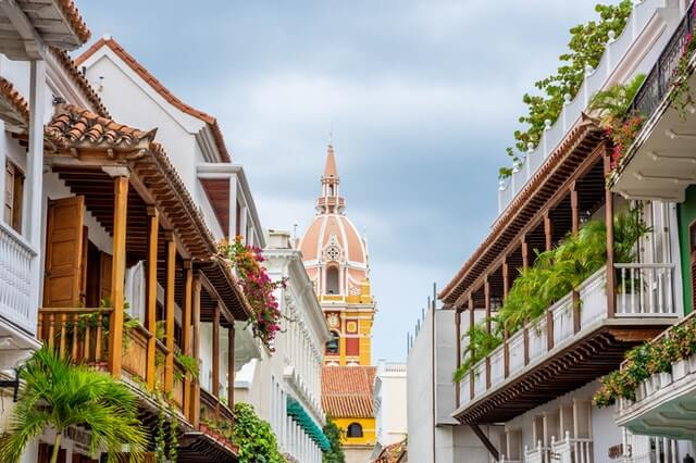 Historic Center of Cartagena, Colombia.