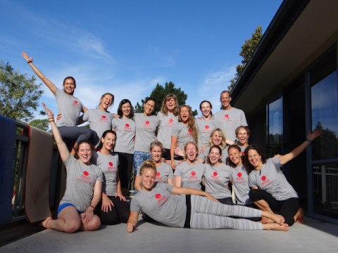 Step Into Your Power Teacher Training Group Of Students