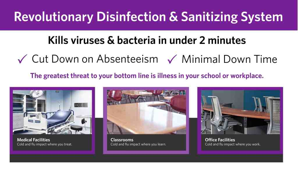 Apollo 360 Revolutionary Disinfection and Sanitization Services